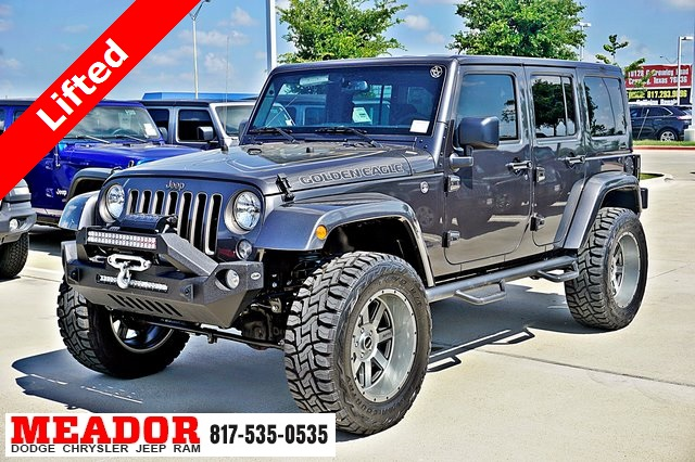 New 2018 Jeep Wrangler JK Unlimited Golden Eagle 4D Sport ...