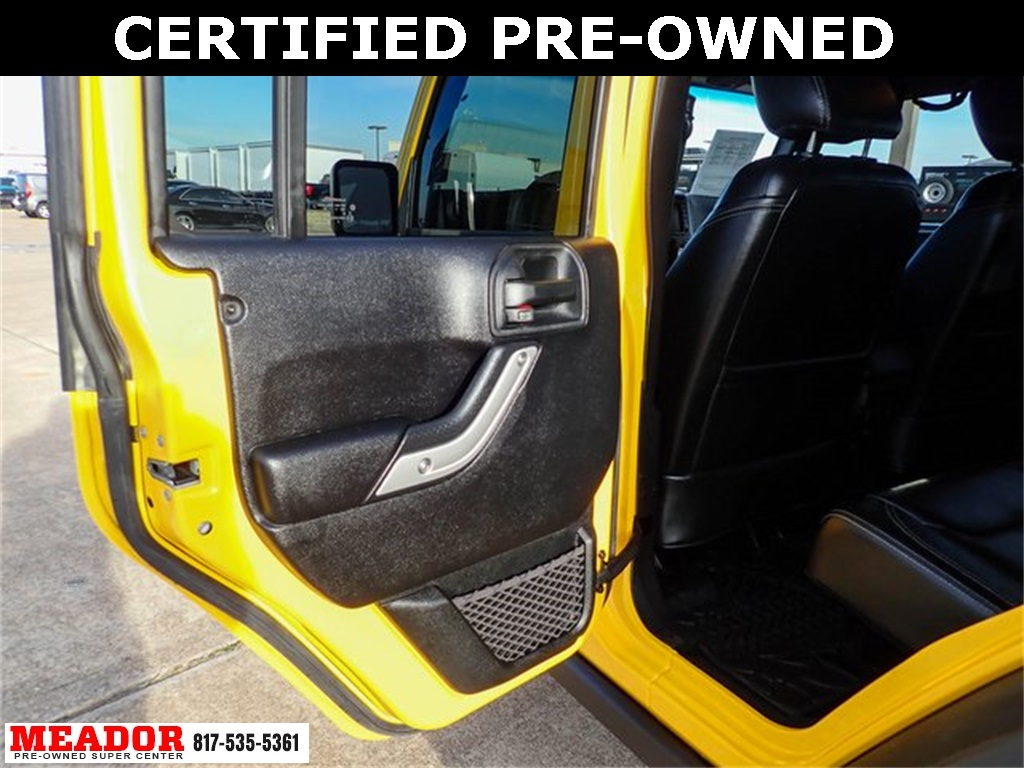 Certified Pre-Owned 2015 Jeep Wrangler Unlimited Rubicon