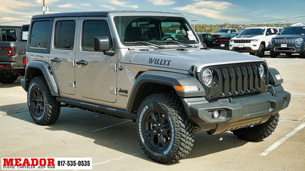 New 2020 Jeep Wrangler Unlimited Willys Wheeler