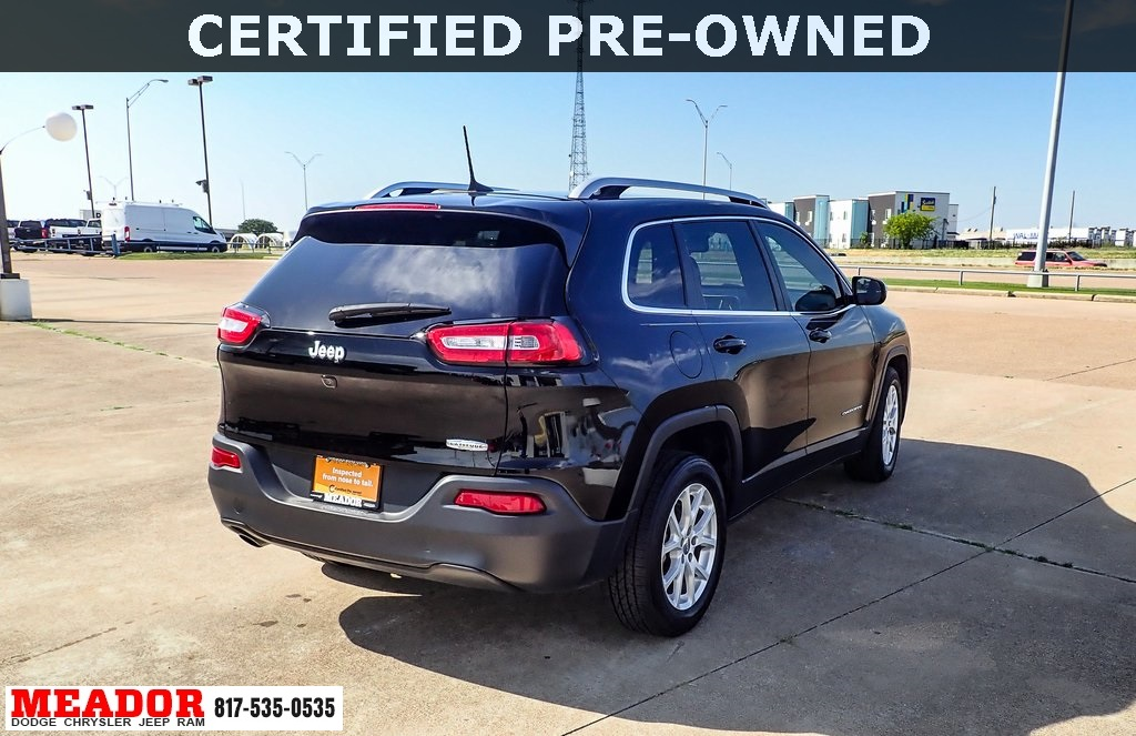 Certified Pre-Owned 2017 Jeep Cherokee Latitude