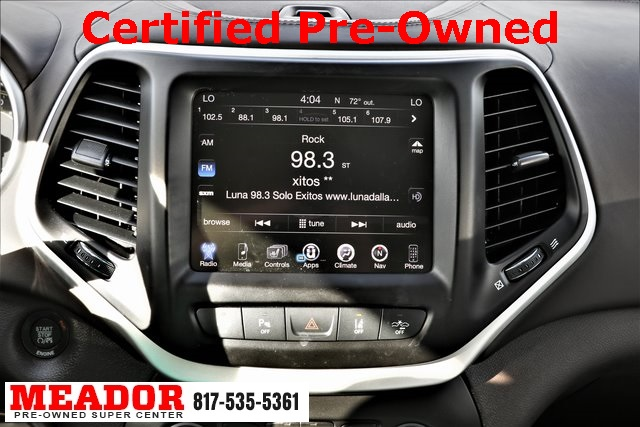 Certified Pre-Owned 2016 Jeep Cherokee Overland