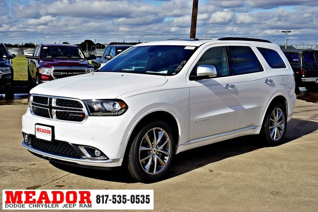 Dodge Durango Citadel >> New 2019 Dodge Durango Citadel With Navigation