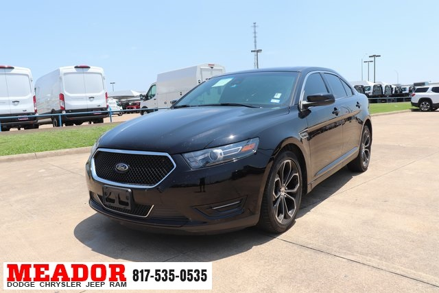 2016 Ford Taurus Sho >> Pre Owned 2016 Ford Taurus Sho 4d Sedan In Fort Worth 9g3310a