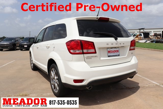 2016 Dodge Journey >> Certified Pre Owned 2016 Dodge Journey R T Awd