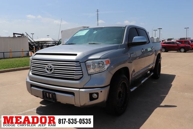Toyota Tundra Platinum >> Pre Owned 2014 Toyota Tundra Platinum With Navigation